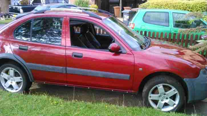 2003 ROVER STREETWISE SE TD RED