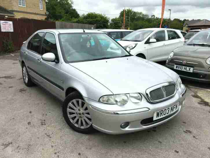2003 Rover 45 1.6i Impression S3, June 20 MOT, Very Nice Condition, PX Clearance
