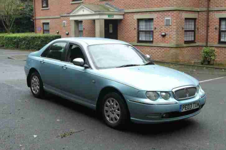 2003 Rover 75 2.0 CDT Connoisseur 4dr SALOON Diesel Manual