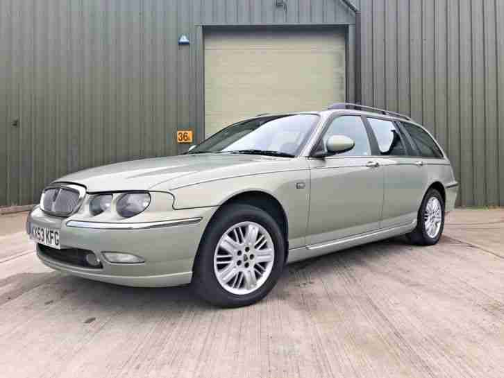 2003 Rover 75 Diesel Tourer 2.0 Cdt Club Se