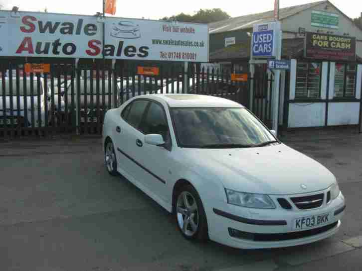 2003 SAAB 9-3 VECTOR 2L, RECENT FULL YEARS MOT AND IN GREAT CONDITION