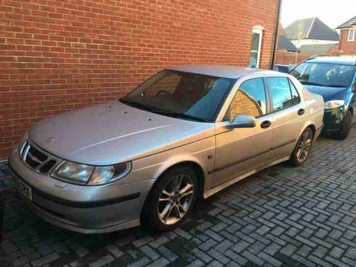 2003 SAAB 9 5 VECTOR TID AUTO SILVER Spares or repairs