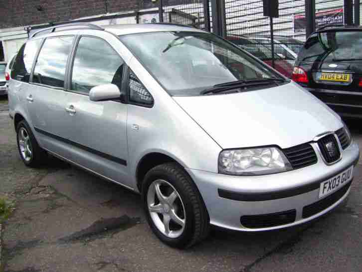 2003 SEAT ALHAMBRA 1.9TDI S ~ READ DESCRIPITION ~ MOT NOVEMBER 2018