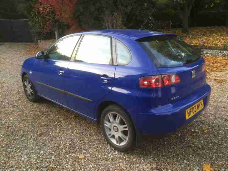 seat 2003 ibiza 1 4 se 5 door full history new mot 104k looks drives. Black Bedroom Furniture Sets. Home Design Ideas