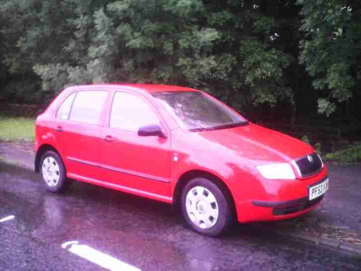 2003 SKODA FABIA CLASSIC 1.2 HTP 54 1 lady owner +supplying dealer 78800 miles