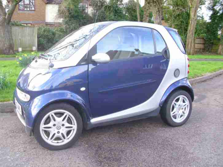 2003 SMART CITY PASSION 61 AUTO BLUE/SILVER