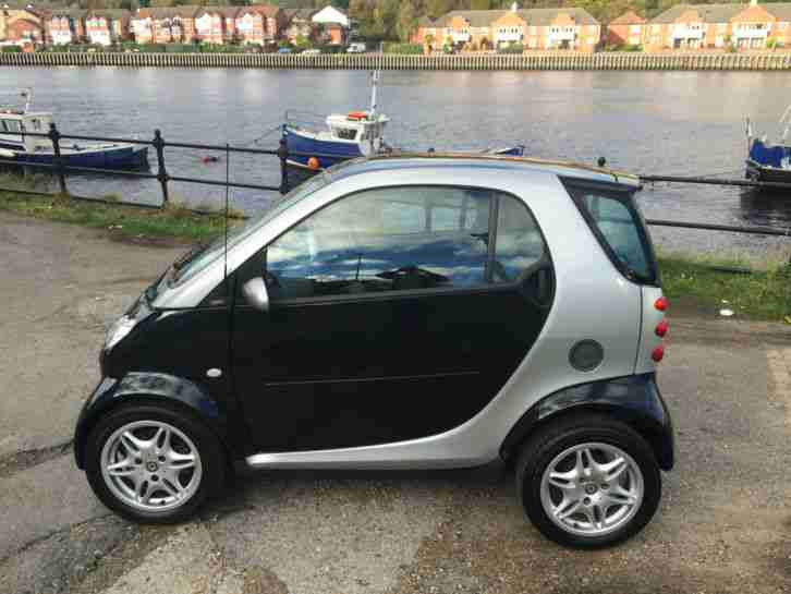 2003 SMART CITY PASSION 61 AUTO SILVER FULL MOT