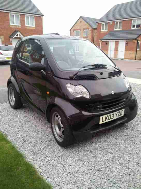 smart 2003 fortwo city pure 61 semi auto black car for sale. Black Bedroom Furniture Sets. Home Design Ideas
