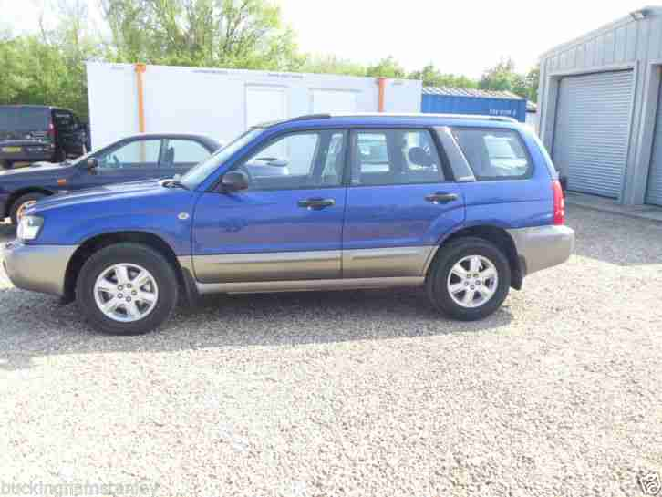 2003 FORESTER X ALL WEATHER BLUE GREAT