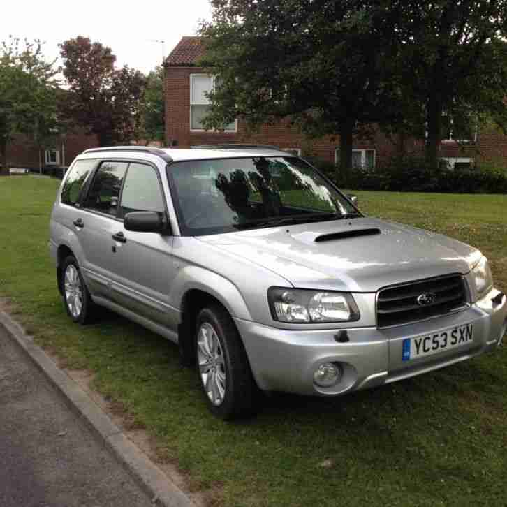 subaru 2003 forester xt turbo silver car for sale. Black Bedroom Furniture Sets. Home Design Ideas