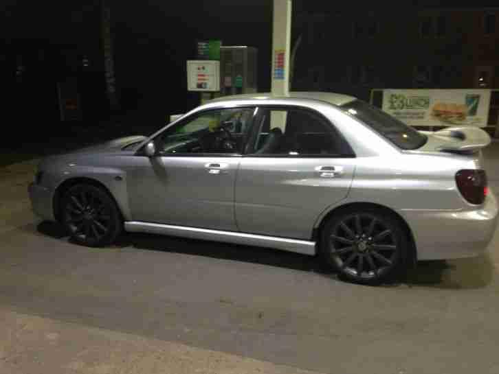 Subaru 2003 Impreza Gx Awd Silver Full Wrx Replica Non