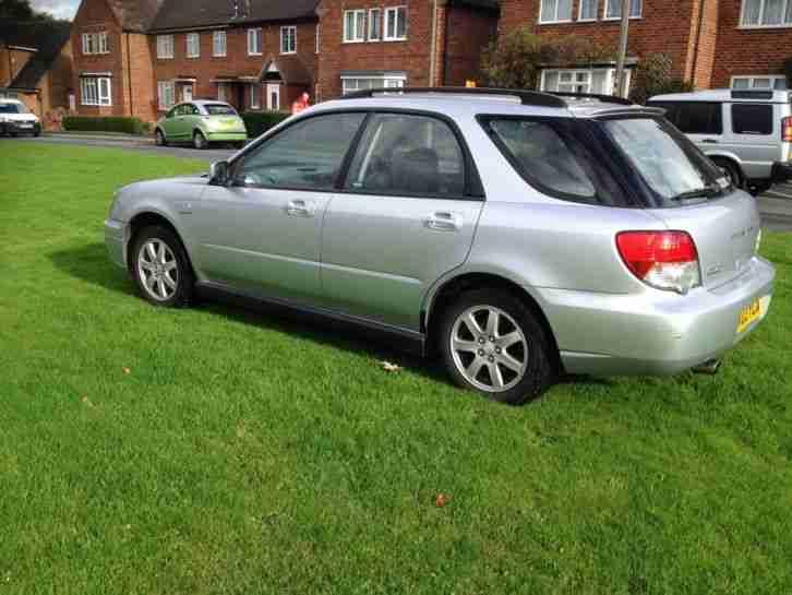 Subaru 2003 Impreza Gx Sport Awd Silver Car For Sale