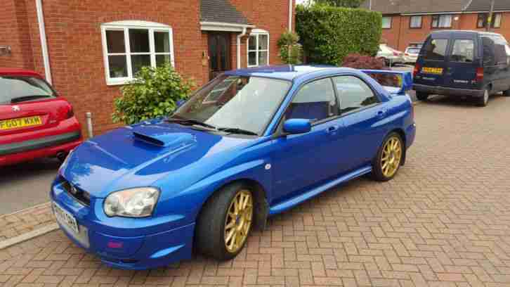 subaru 2003 impreza wrx sti type uk blue car for sale. Black Bedroom Furniture Sets. Home Design Ideas