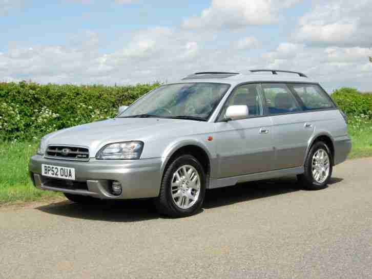 2003 SUBARU LEGACY OUTBACK 3.0 H6 FULL MAIN DEALER SERVICE HISTORY - 15 STAMPS!