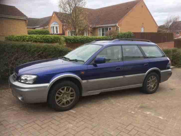 2003 LEGACY OUTBACK H6 3LTR AUTO FLAT