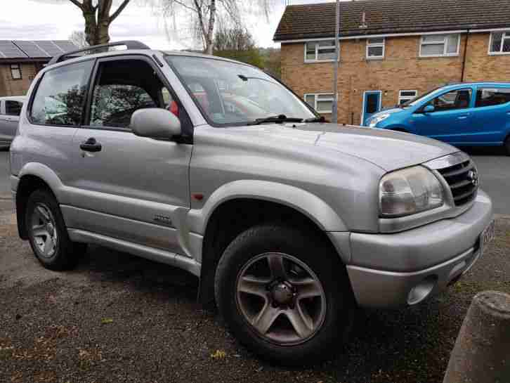 2003 SUZUKI GRAND VITARA 16V SE SILVER 103K IN GOOD CONDITION
