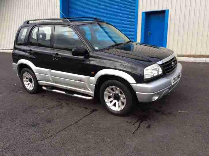 2003 Suzuki Grand Vitara Black | 200+ Interior and ...