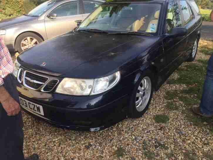 2003 Saab 9-5 aero estate manual - no reserve 6 months MOT