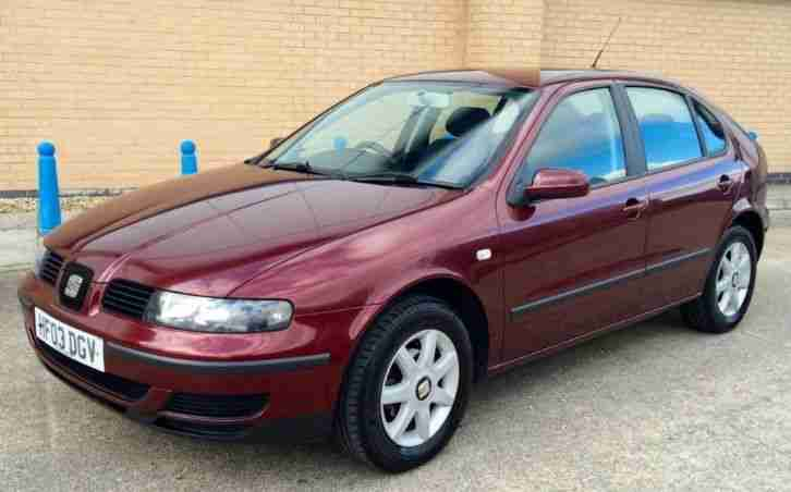 seat 2003 leon 1 6 s fsh from new 91k miles 25 10 15 mot no. Black Bedroom Furniture Sets. Home Design Ideas