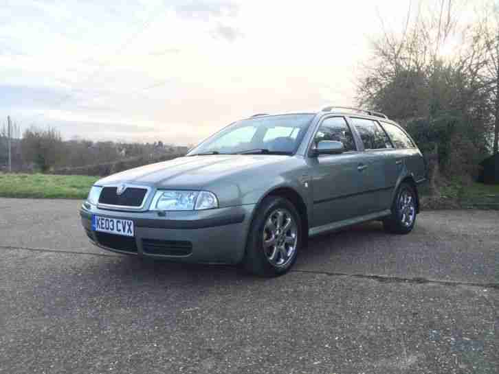 skoda 2003 octavia 1 9 tdi diesel estate laurin klement car for sale. Black Bedroom Furniture Sets. Home Design Ideas