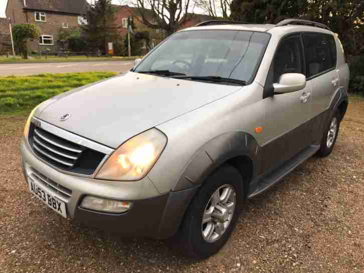 2003 Ssangyong Rexton 2.9TD RX 290 S 3 F Keepers New Mot