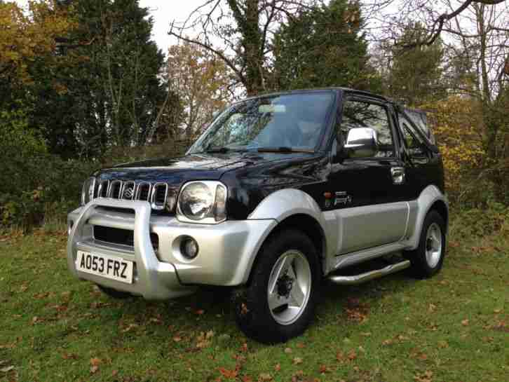 suzuki 2003 jimny 1 3 petrol soft top convertible 4x4 car for sale. Black Bedroom Furniture Sets. Home Design Ideas