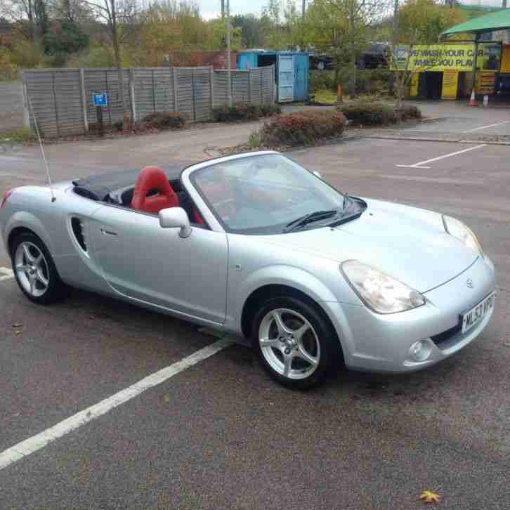 2003 TOYOTA MR2 ROADSTER VVTI SILVER BRAND NEW MOT
