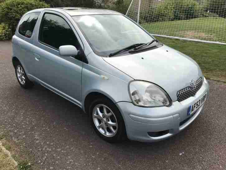 toyota 2003 yaris t spirit auto silver car for sale. Black Bedroom Furniture Sets. Home Design Ideas