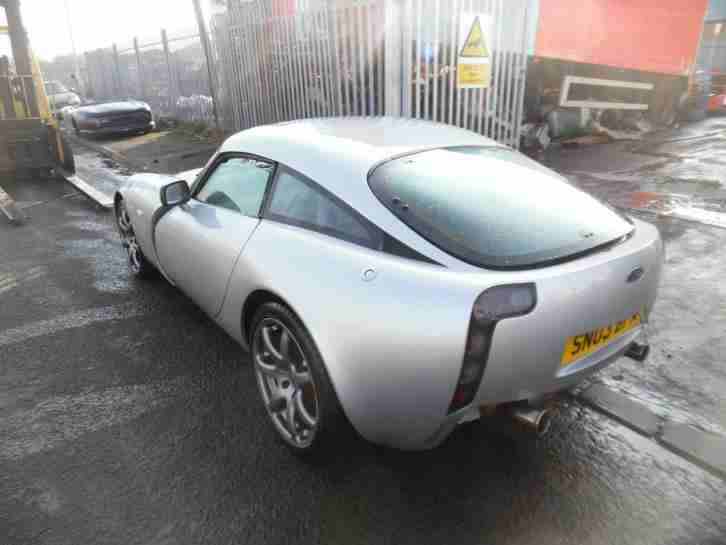 2003 TVR T350c SALVAGE CAT D LOW MILES 15K AIR CON FITTED