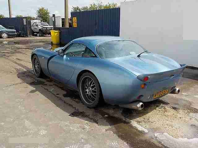 2003 TVR TUSCAN BLUE CAT D SALVAGE EASY EASY FIX