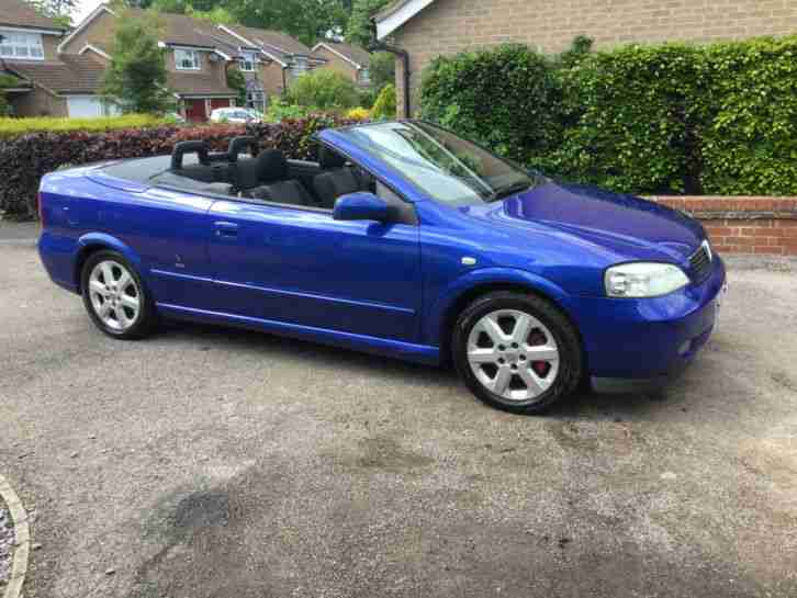 2003 ASTRA COUPE CONVERTIBLE BLUE