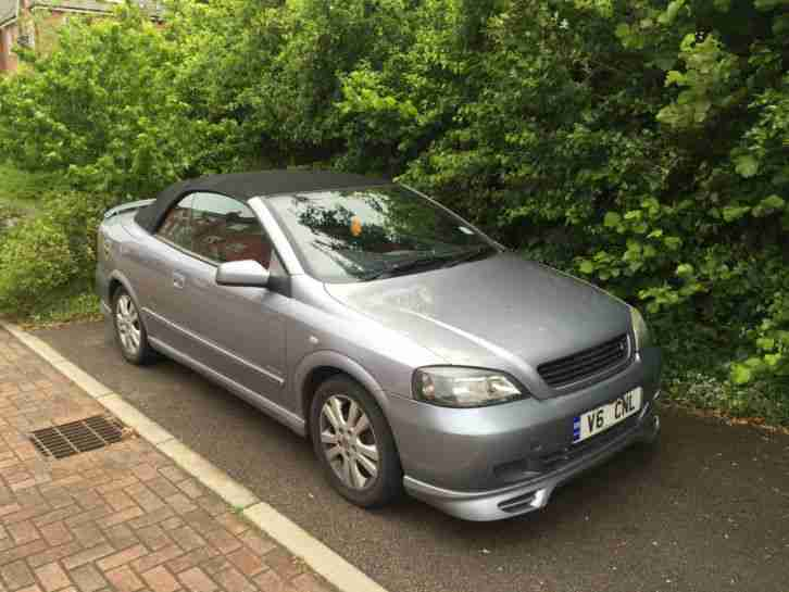 2003 VAUXHALL ASTRA LINEA ROSSA CONV. SILVER