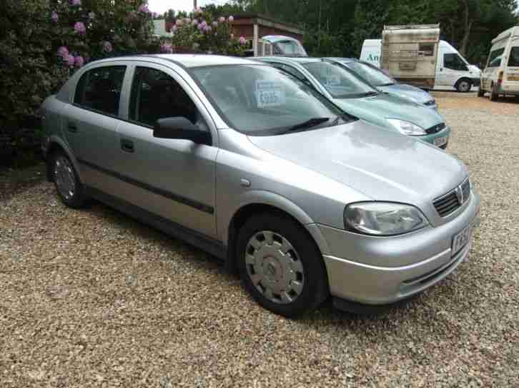 2003 vauxhall astra ls 16v 5 door silver car for sale. Black Bedroom Furniture Sets. Home Design Ideas