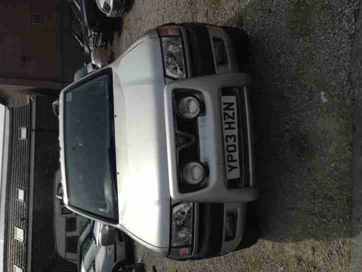 2003 VAUXHALL FRONTERA SPORT RS DTI SILVER