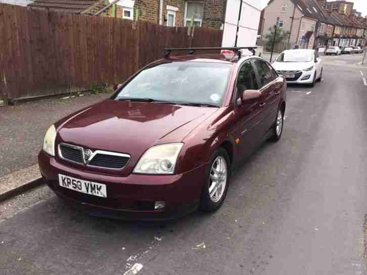 2003 VECTRA ELEGANCE 16V RED