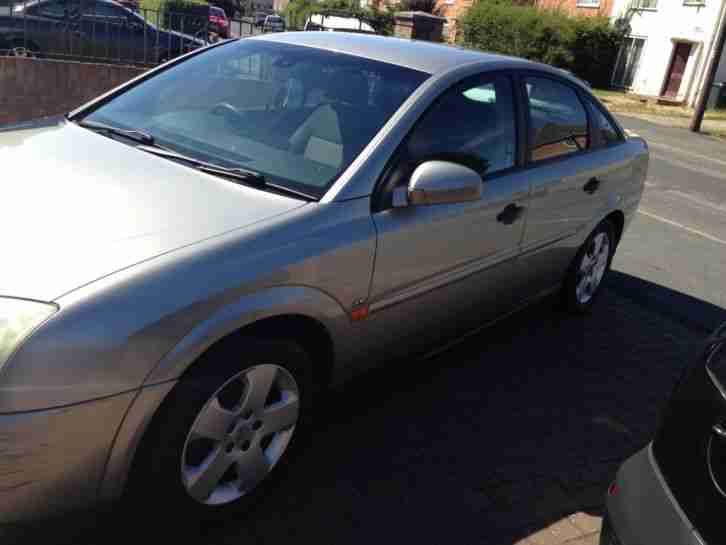2003 VAUXHALL VECTRA LS 16V SILVER