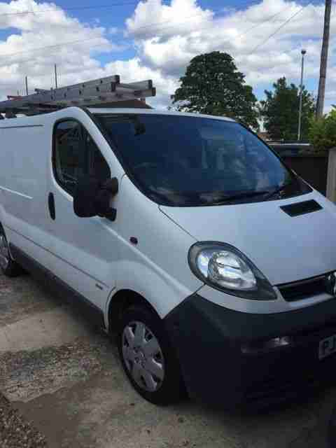 2003 VAUXHALL VIVARO 2700 DI SWB WHITE just had a full service and cambelt