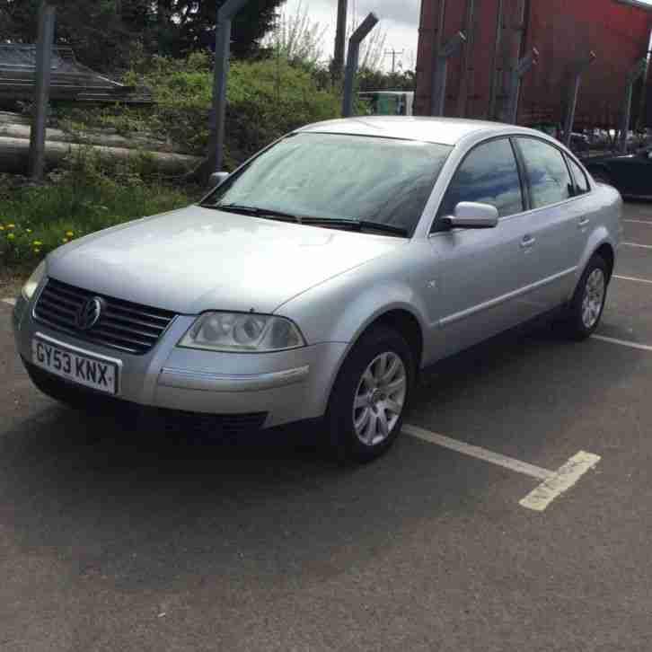 Volkswagen Diesel Cars For Sale: Volkswagen 2003 PASSAT SE TDI TIPTRONIC SILVER. Car For Sale