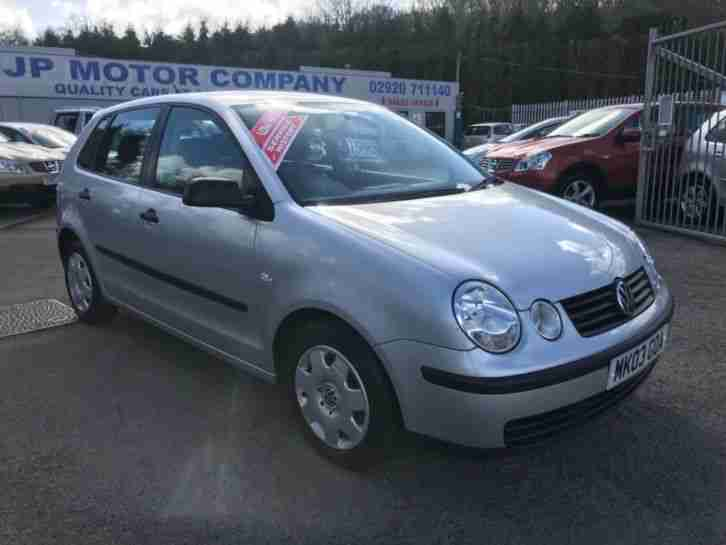 2003 POLO E SILVER LOW MILEAGE