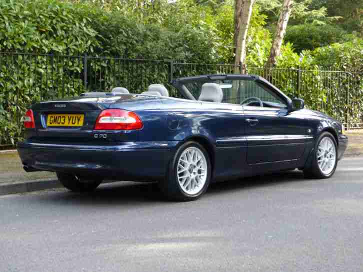 volvo 2003 c70 2 0 t convertible manual  u00a32500 car for sale volvo c70 owners manual pdf volvo c70 convertible manual transmission