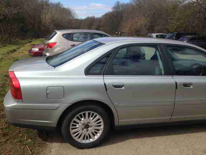 2003 VOLVO S80 S D5 GREEN