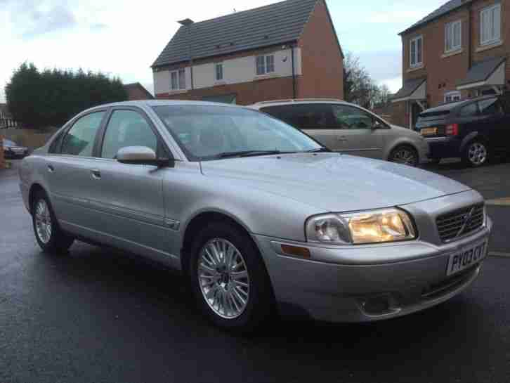 2003 S80 S D5 SILVER