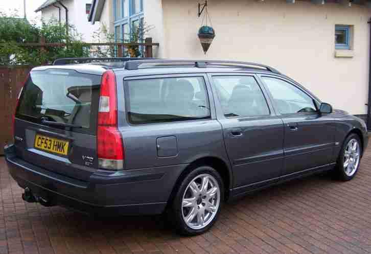 Volvo 2003 V70 S T AUTOMATIC ESTSTE CAR, TITANIUM GREY PEARL, BERGHAM