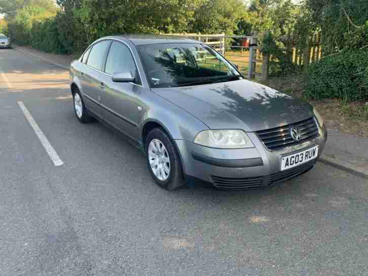 2003 Passat, long MOT, nice and