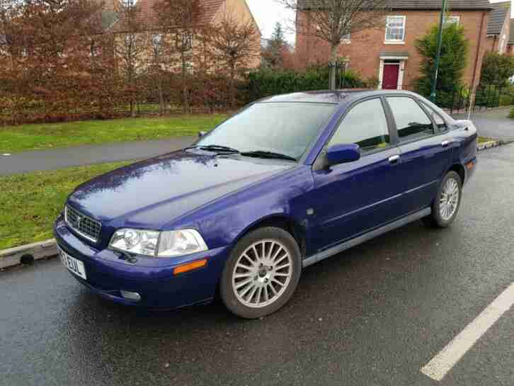 Volvo S40. Volvo car from United Kingdom