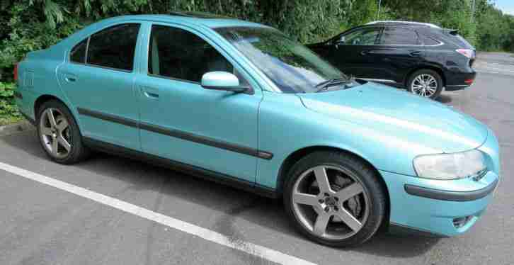Volvo S60R. Volvo car from United Kingdom