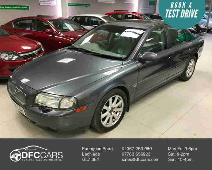 2003 Volvo S80 2.9 Geartronic 2003MY SE 1 Keeper 17 Stamp 3 Keys
