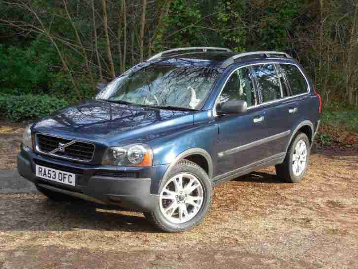 2003 Volvo XC90 2.4 TD D5 SE Geartronic 5dr Automatic SUV