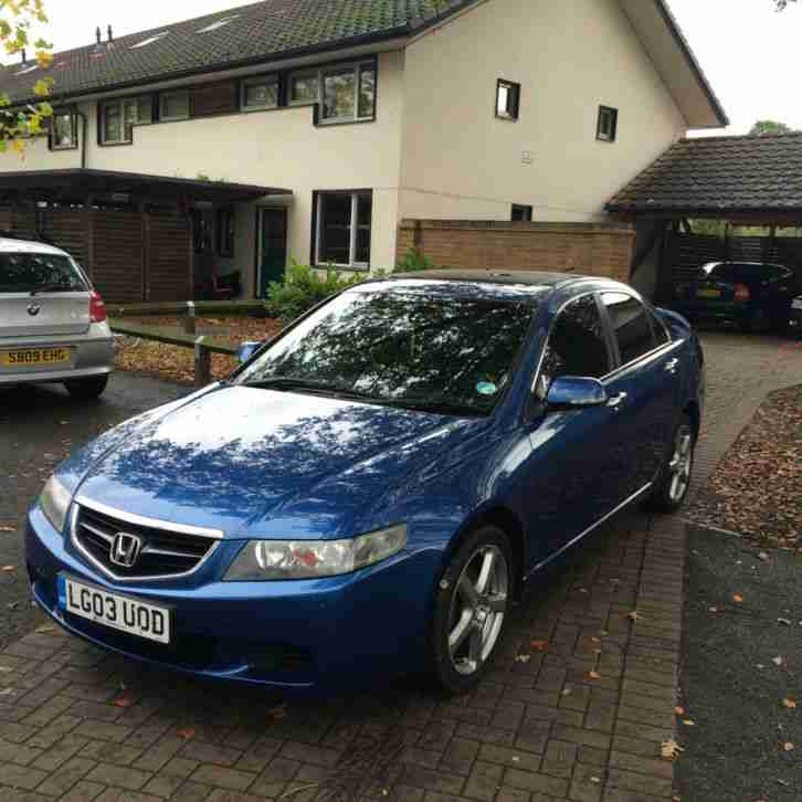 2003 honda accord 2.0 se v-tech full dealer history mot tax excellent condition