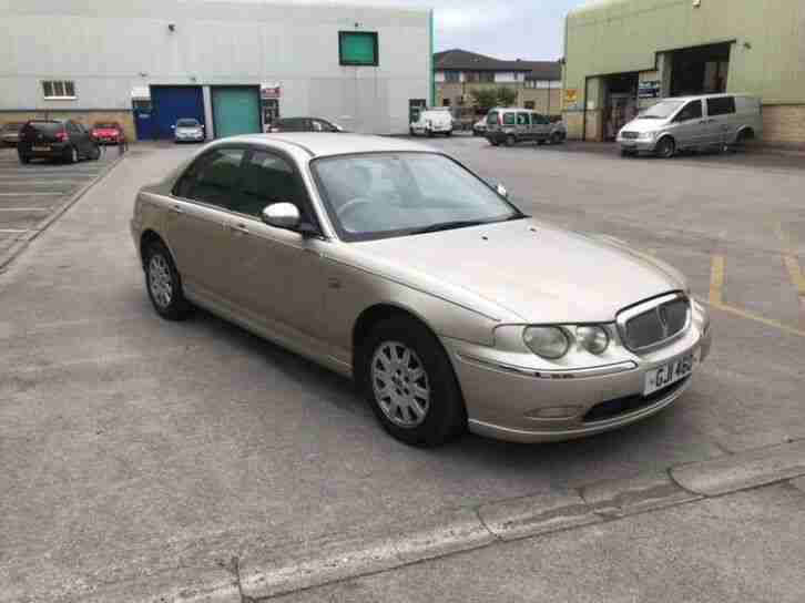 2003 rover 75 1.8 turbo automatic CONNOISSEUR SE unbelievable 45k from new f,S,h